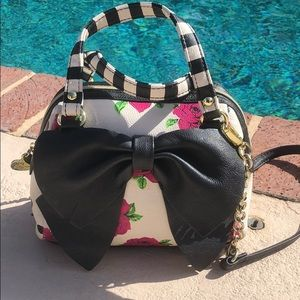 Betsy Johnson crossbody bag, handles & strap